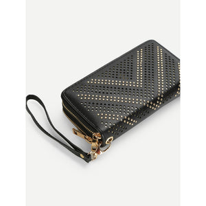 Cut Out Design PU Purse
