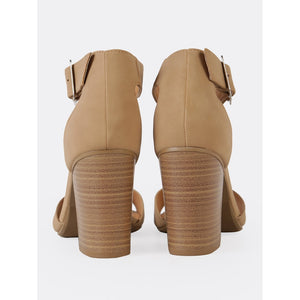 Ankle Strap Single Band Chunky Heel