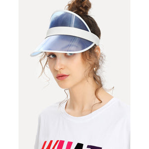 Clear Brim Visor Hat