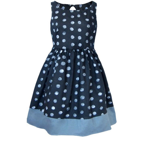 Polka Dot Party Summer Dress - Tunique Design