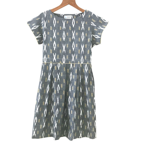 Ikat Retro Dress