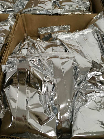 A box of Mylar bags!
