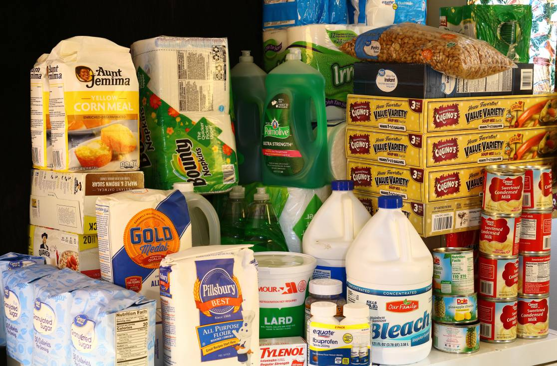 Food and household stockpile