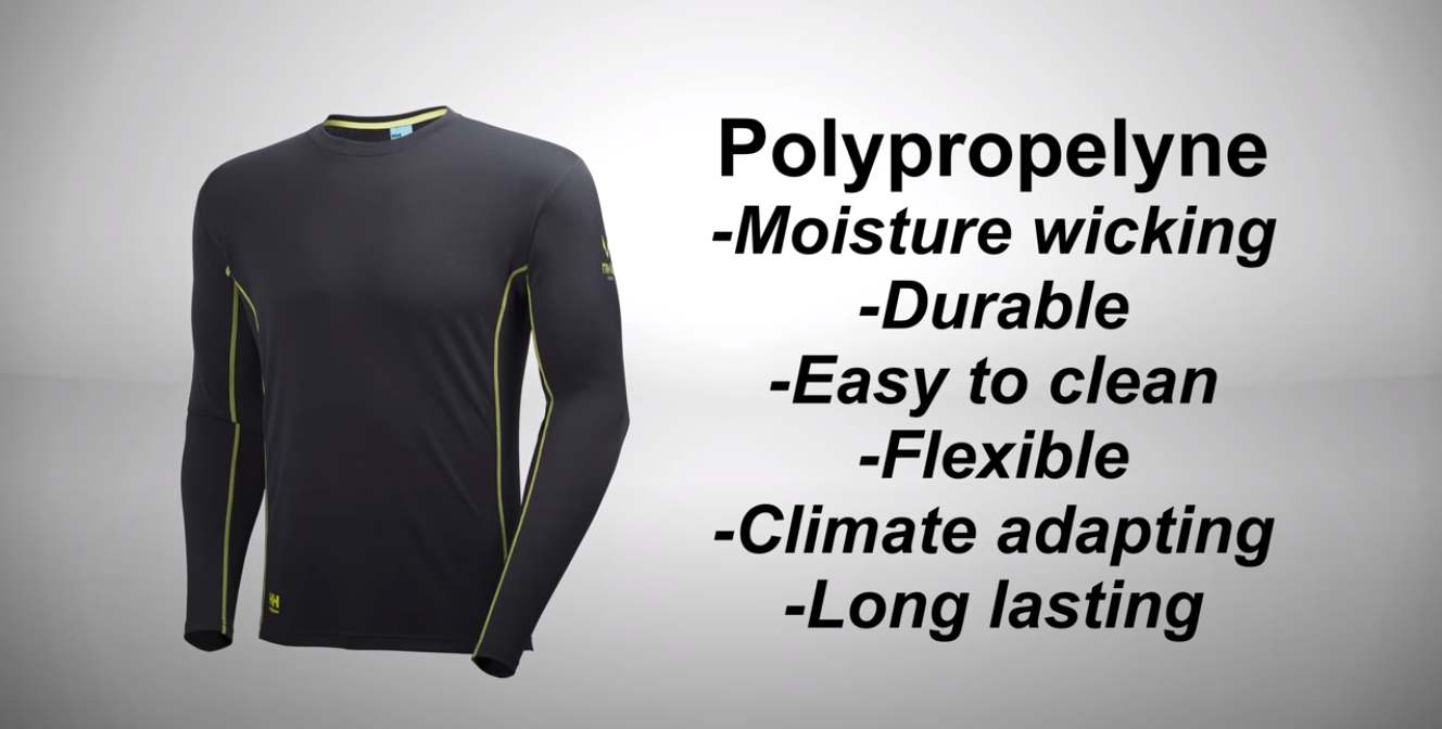 polypropylene sweater for winter survival and outdoor life