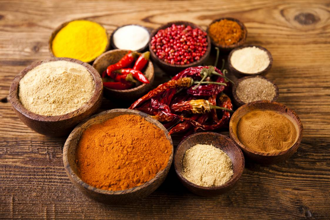 Powered spices
