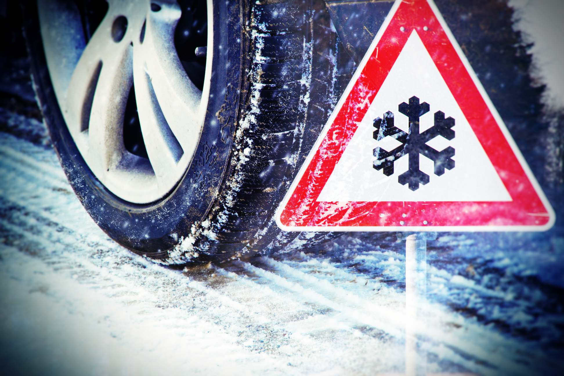 Driving in harsh winter conditions