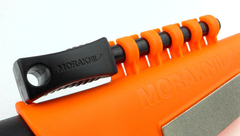 Morakniv Bushcraft Stainless Steel Survival Knife with Fire Starter (CHOOSE COLOR)