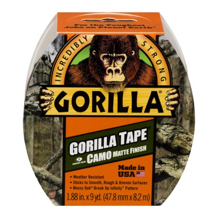 "Gorilla Tape - Camo/ Mossy Oak 2"" thickness"