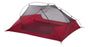 Freelight Ultralight Backpacking 3 Person Tent in red and grey.