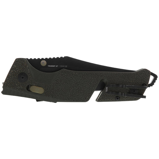 SOG TRIDENT AT Folding Knife- OLIVE DRAB