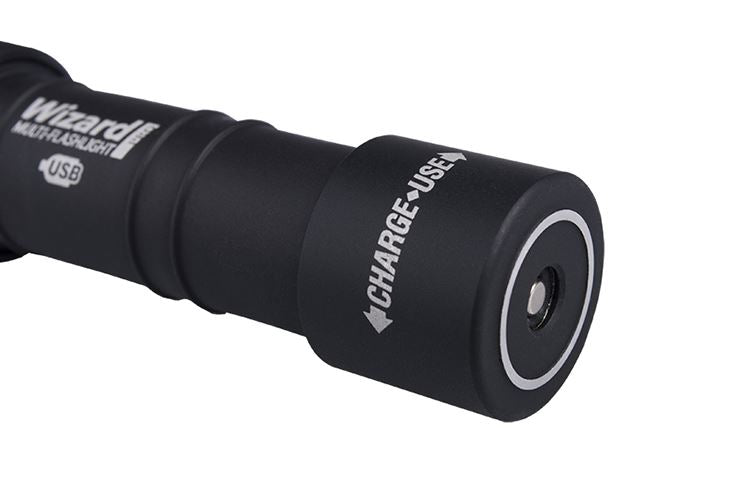 Armytek Wizard Pro Flashlight | Magnet USB + 18650 Battery