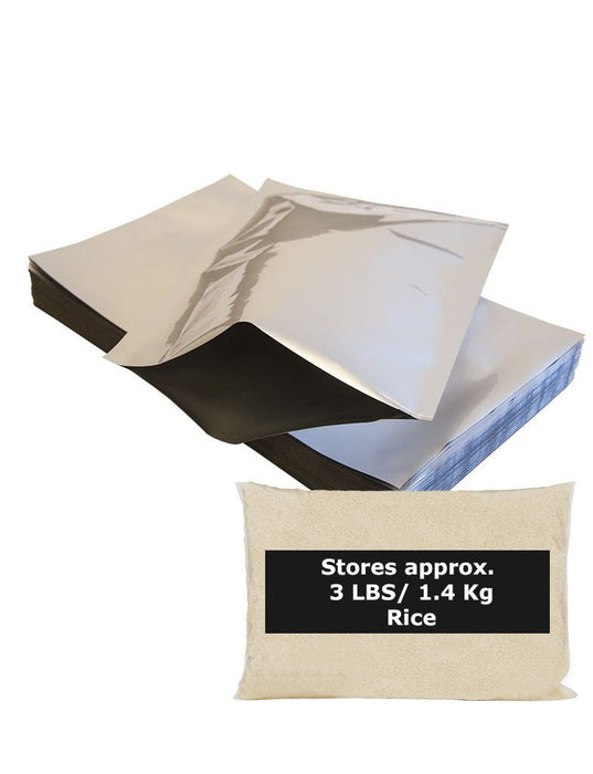 10 X 1 Gallon Mylar Bags (5 mil Thickness)