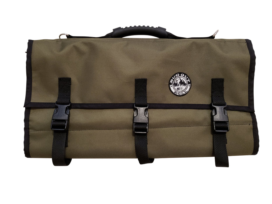 Bug Out Roll Lite in an olive color.