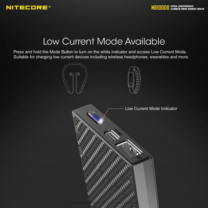 Nitecore NB10000 MAH -SUPER SLIM/ COMPACT FAST CHARGE