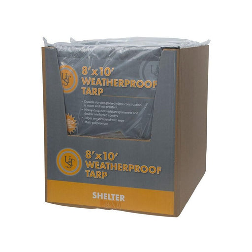 Weatherproof Tarp, 8' x 10' -Green