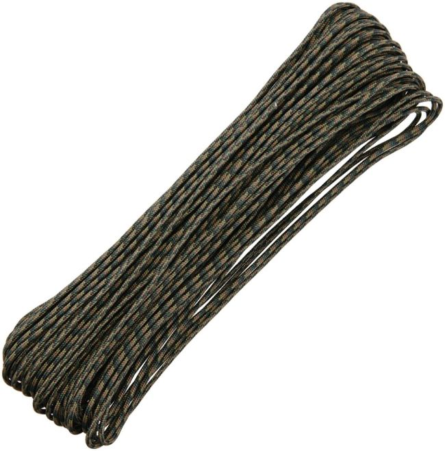 Military Grade- 550 Paracord (Choose Color) 100 Feet