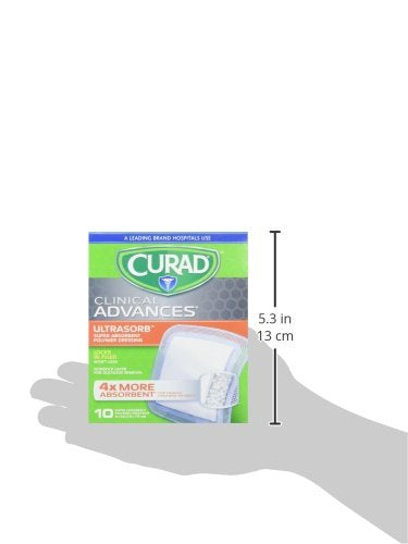 Curad- Super Absorbant Wound Pad