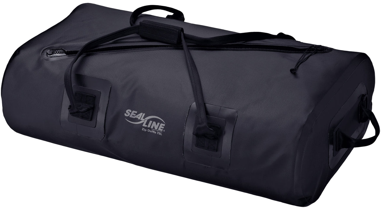 SealLine Zip Duffle 75L (Black)