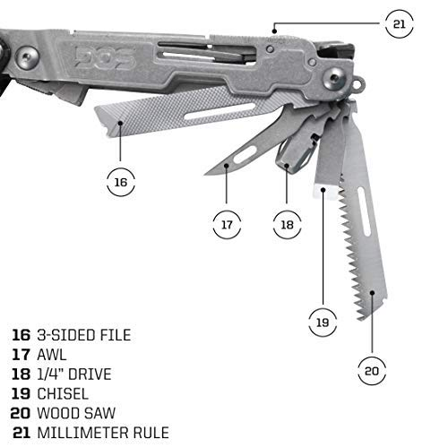 Power Access Deluxe Multi-Tool W/ 12 Piece Hex Bit