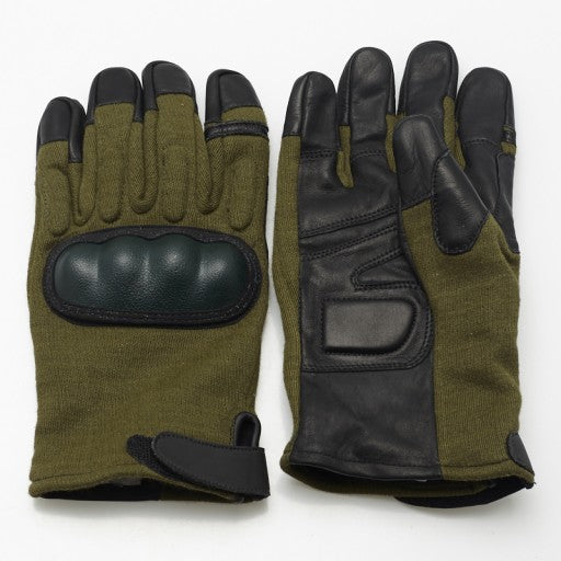Kevlar Tactical Gloves - With Hard Knuckle (CHOOSE COLOR/SIZE)