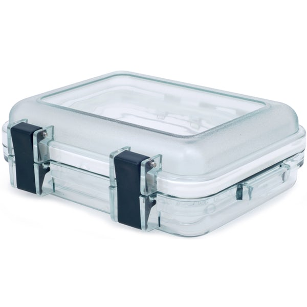 GSI Gear Box Crushproof/ Waterproof box with large closing latches and a clear body casing.
