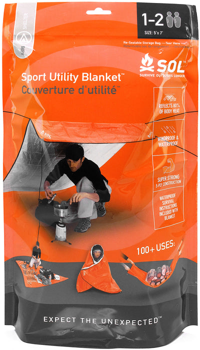 Survive Outdoors Longer Sport Utility Blanket
