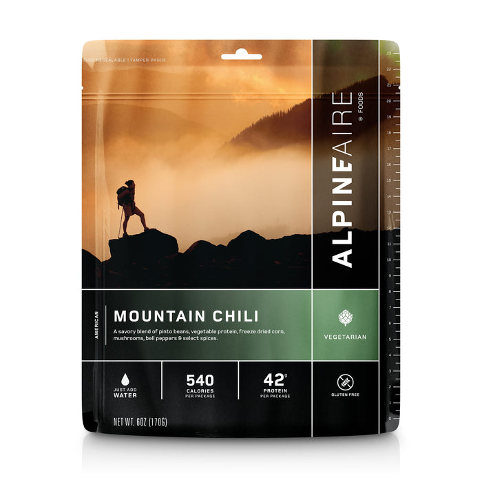 Alpineaire Mountain Chili | Freeze Dried Food