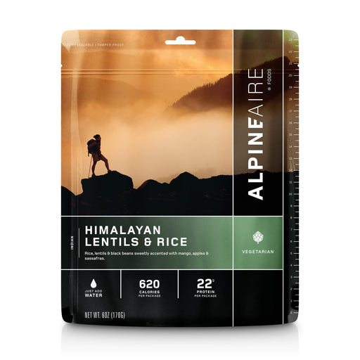 ALPINEAIRE HIMALAYAN LENTILS AND RICE | Freeze Dried Food