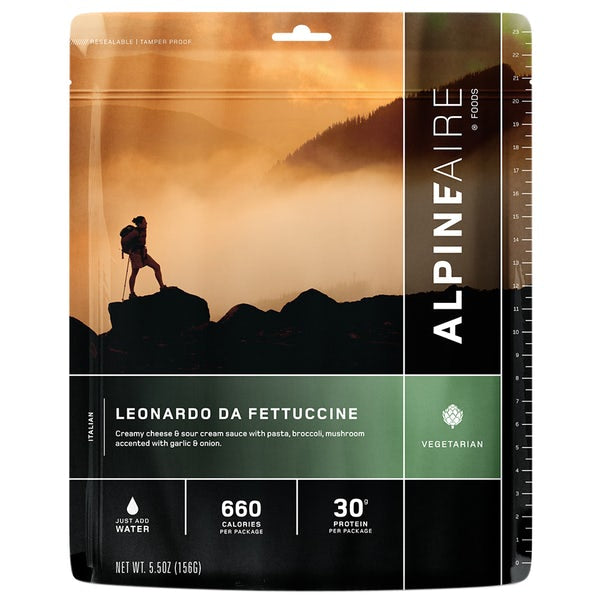Alpineaire- Leonardo Da Fettuccine | Freeze Dried Food