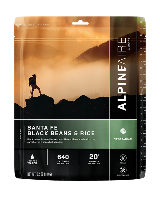 ALPINEAIRE SANTA FE BLACK BEAN & RICE