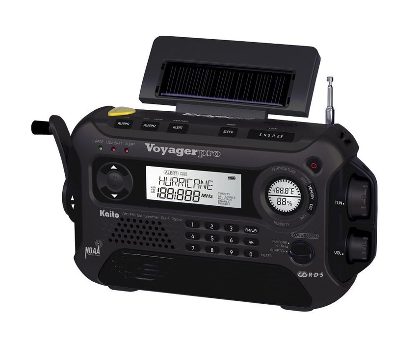 Kaito KA600 5-Way Powered Emergency AM/FM/SW NOAA Weather Alert Radio