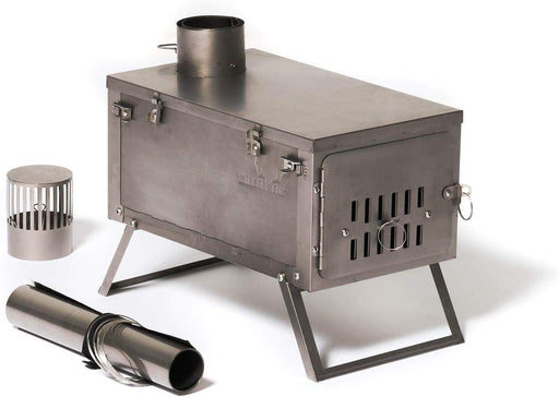 Winnerwell Ultralight Titanium Tent Stove (ONLY 4 LBS) IN STOCK