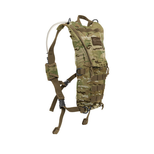Geigerrig Pressurized Hydration Pack 'The Rigger'. In dessert camouflage.