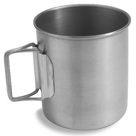 MSR (Mountain Safety Research) Ultralight Titanium Cup with titanium handle.