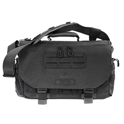 Vanquest ENVOY-17 (Gen-4) Messenger Bag in Black.
