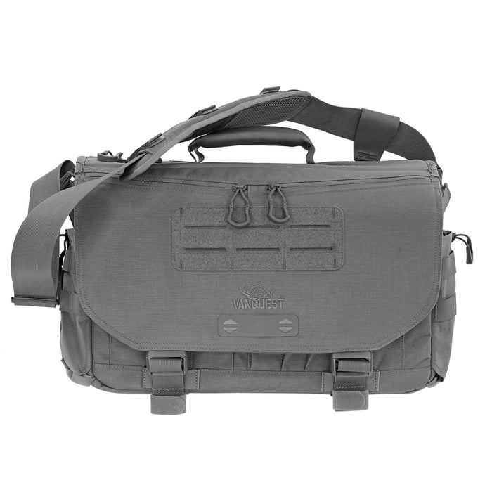 Vanquest ENVOY-17 (Gen-4) Messenger Bag in Grey.