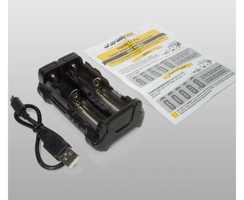 Portable Battery Charger Handy C2 | Armytek