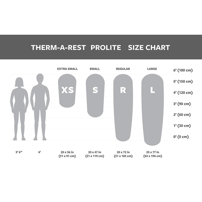 Thermarest Prolite Large (Self-inflating mattress) Ultralight