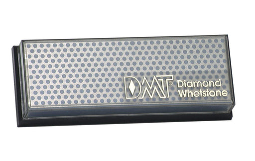 DMT Diamond Whetstone Sharpener incased, showing the engraved dot pattern.