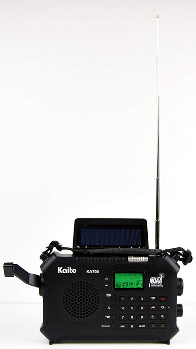 Kaito KA700 4 Way Powered Emergency Radio with Bluetooth (LITHIUM/ BLUETOOTH)