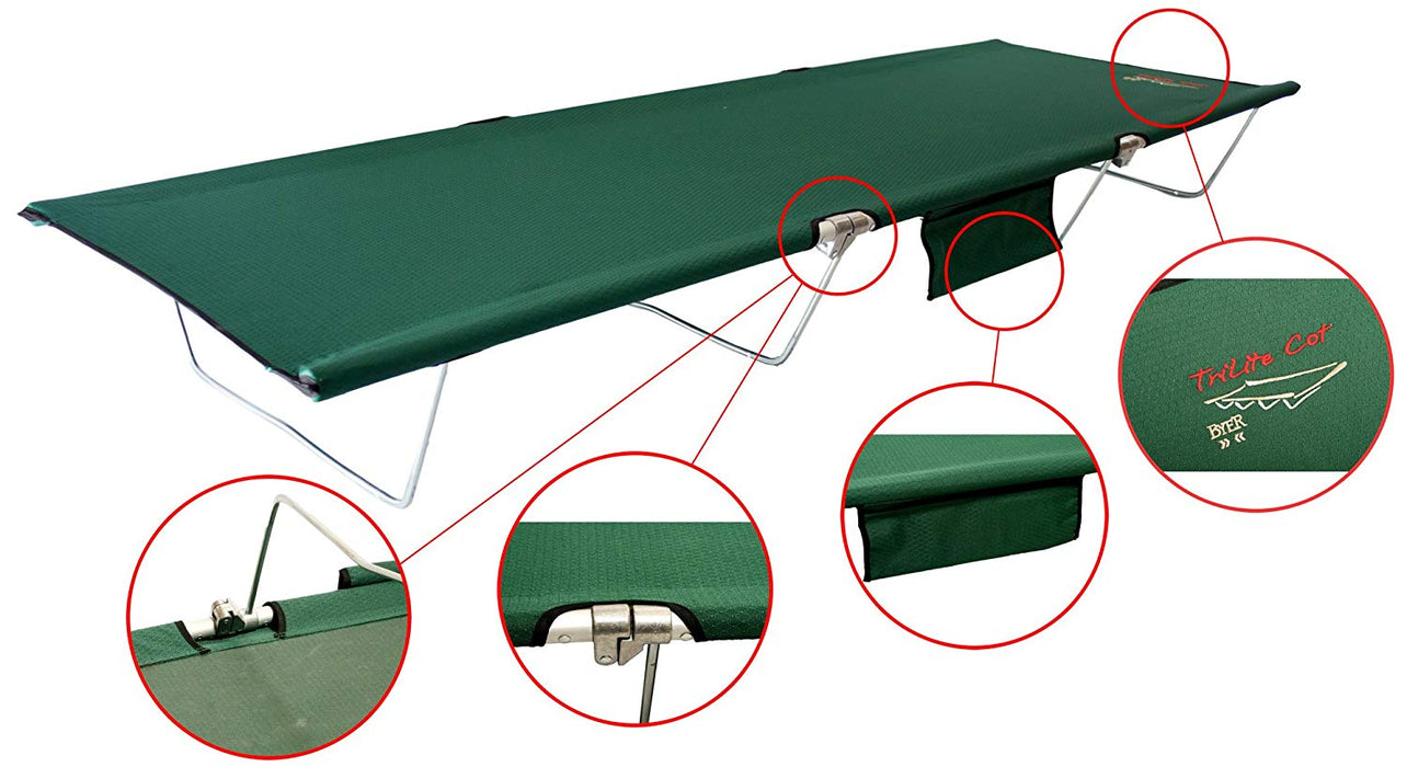 Trilite Folding Cot | Byer of Maine
