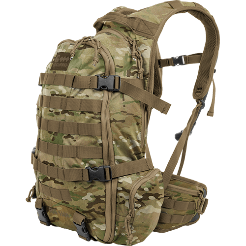 Tactical Pack Rig 1600 Geigerrig (MULTICAM) (Pressurized Water Bladder system)