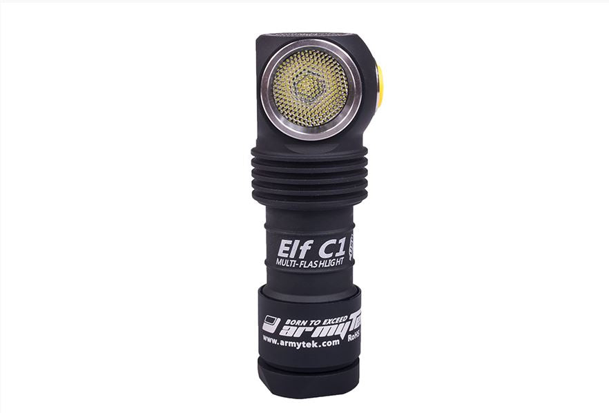 Armytek Elf C1 Flashlight Micro-USB + 18350 Battery included