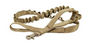 MilSpex K-9 Tactical Dog leash in Beige/Olive colour on a white background.