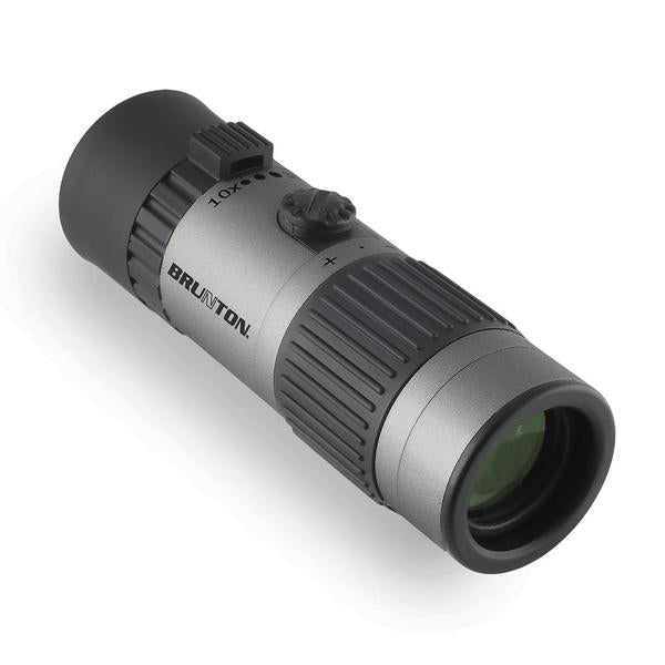 Brunton ECHO® Zoom Monocular with 30x power and a prism glass lens.