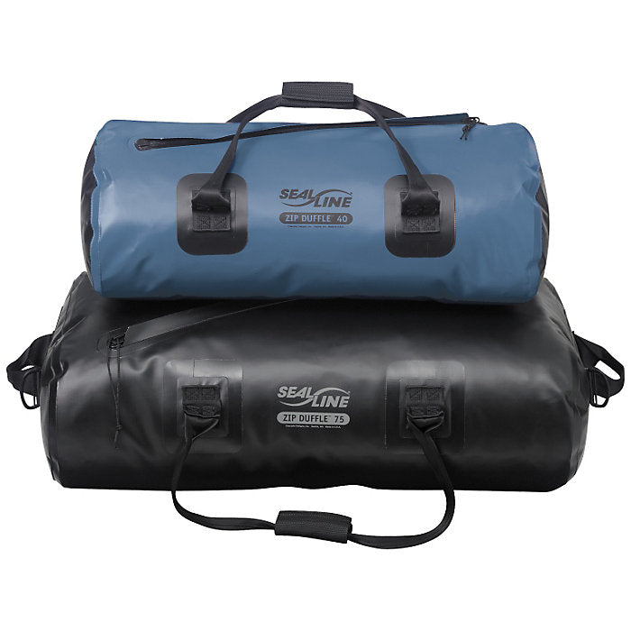 SealLine Zip Duffle 40-75L (Black)