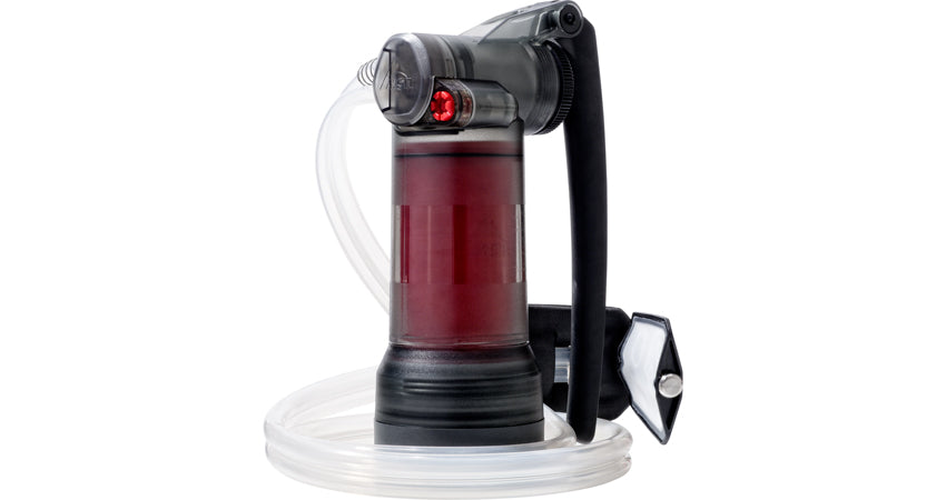 MSR Guardian (Worlds Most Advanced Water Purifying System)  Backcountry Water sources