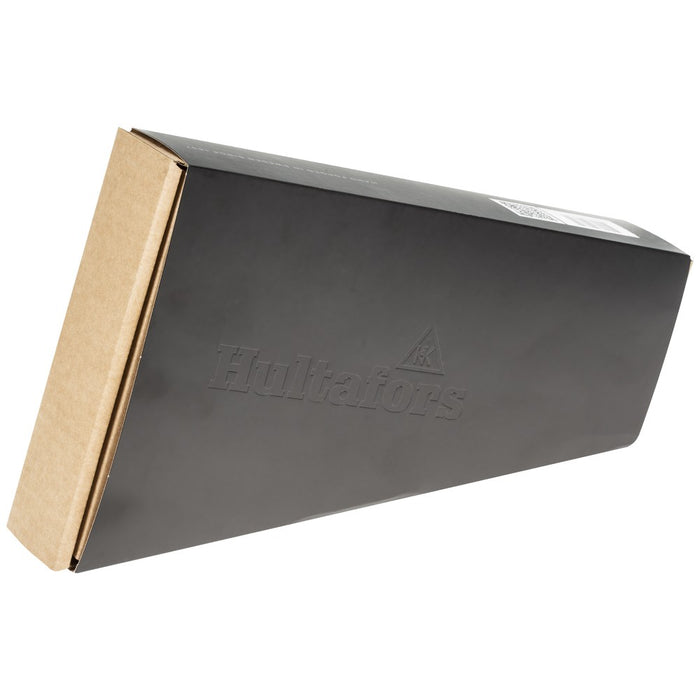 Hultafors Agelsjon Mini Hatchet Slide out Black Product box.