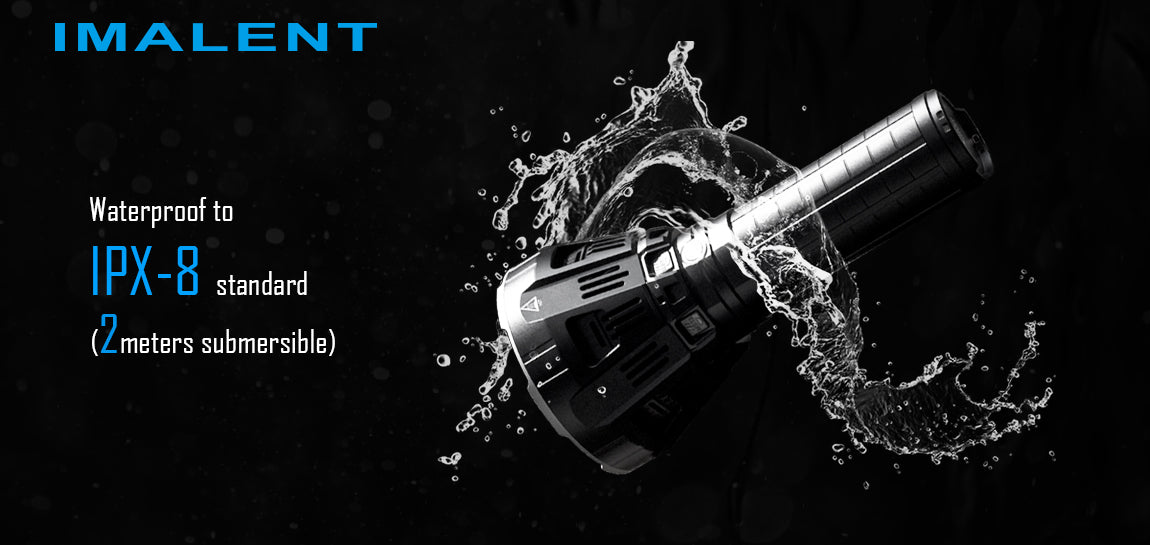 Imalent MS 12 | 53,000 Lumen POWERHOUSE | Cooling Fan | Li-ion