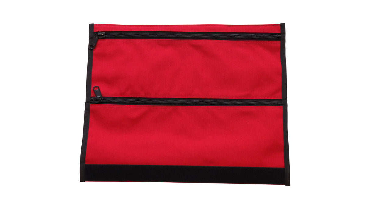 Cordura mod for the Bug Out Roll, in a bright First Aid Red colour.